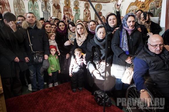 Католикос-Патриарх всея Грузии в Москве. Фото Ю. Маковейчук (38)
