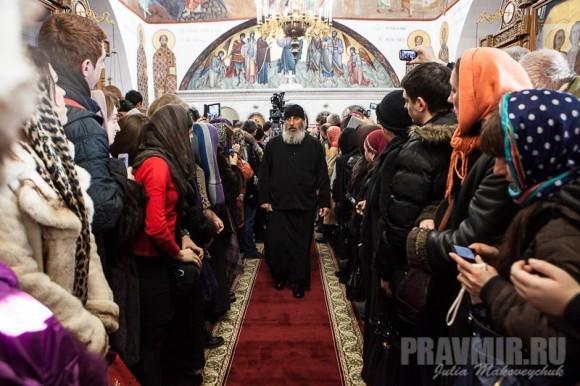 Католикос-Патриарх всея Грузии в Москве. Фото Ю. Маковейчук (39)