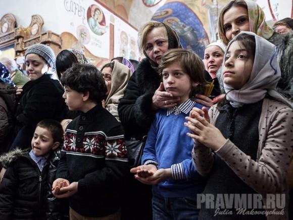 Католикос-Патриарх всея Грузии в Москве. Фото Ю. Маковейчук (41)