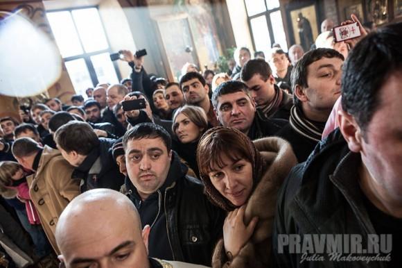 Католикос-Патриарх всея Грузии в Москве. Фото Ю. Маковейчук (43)