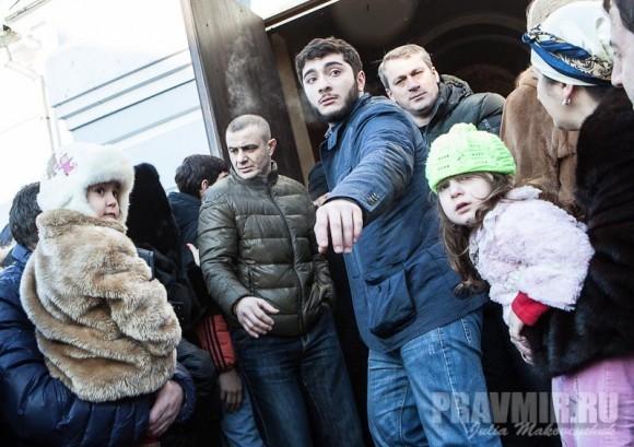Католикос-Патриарх всея Грузии в Москве. Фото Ю. Маковейчук (46)