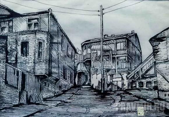Георгий Багратион-Давиташвили. Старый Тбилиси, 1012