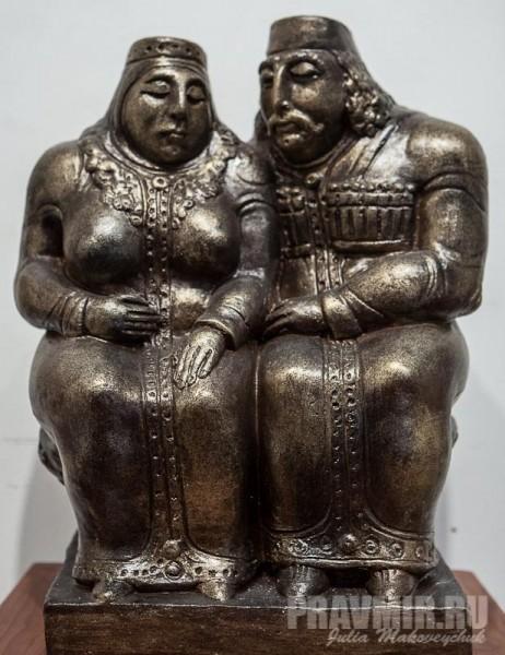 Ушанги Кадагишвили. Лурсаб и Дареджан. 2012, Кипр