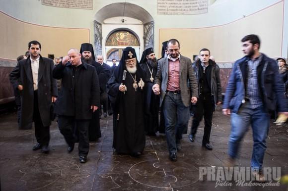 Католикос-Патриарх всея Грузии в Москве. Фото Ю. Маковейчук (50)