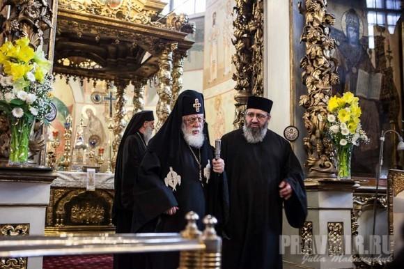 Католикос-Патриарх всея Грузии в Москве. Фото Ю. Маковейчук (51)