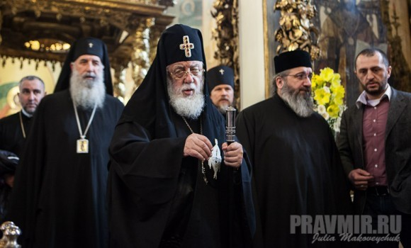 Католикос-Патриарх всея Грузии в Москве. Фото Ю. Маковейчук (52)