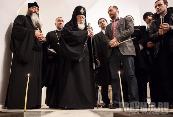 Католикос-Патриарх всея Грузии в Москве. Фото Ю. Маковейчук (57)