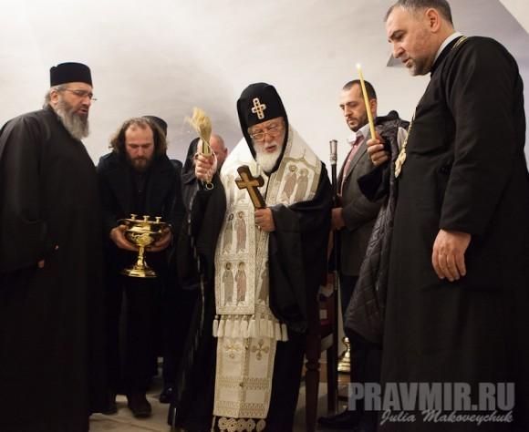 Католикос-Патриарх всея Грузии в Москве. Фото Ю. Маковейчук (60)