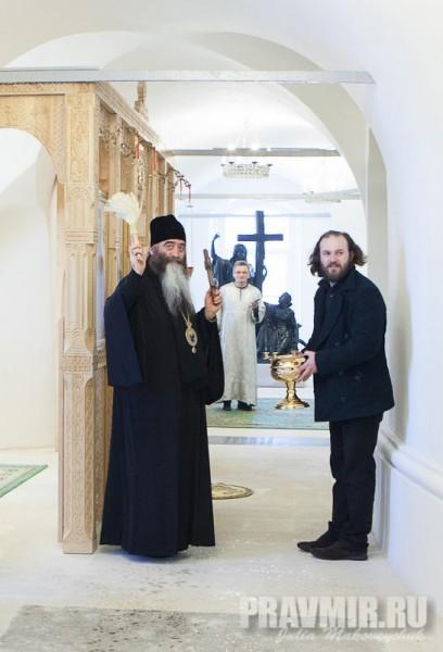 Католикос-Патриарх всея Грузии в Москве. Фото Ю. Маковейчук (62)