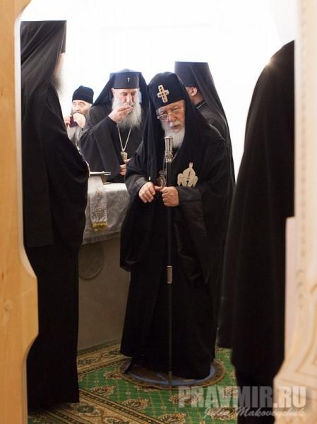 Католикос-Патриарх всея Грузии в Москве. Фото Ю. Маковейчук (63)