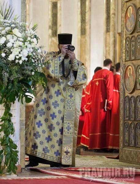 Диакон Александр, Сербия