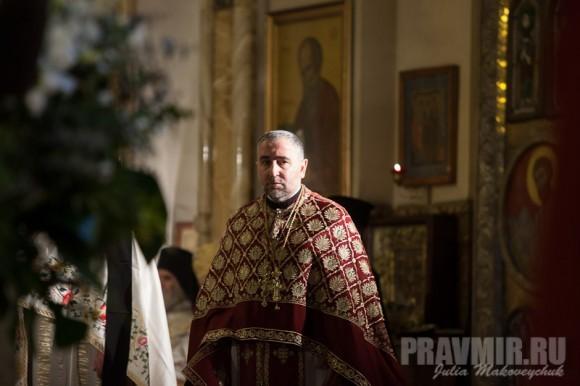 Протоиерей Георгий Звиададзе, ректор Тбилисской Духовной академии