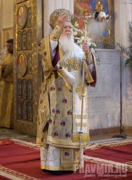 Патриарх Варфоломей I (Арходонис), 232-й Архиепископ Константинополя — Нового Рима и Вселенский Патриарх, предстоятель Константинопольской Православной Церкви