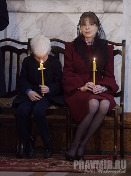 Кетеван Иванишвили с сыном