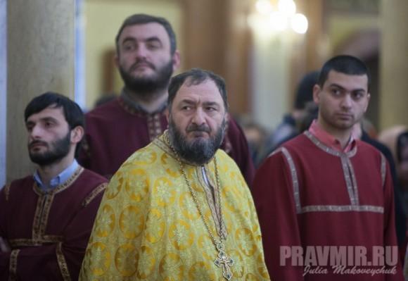 Митрофорный протоиерей Авраам Соломнишвили