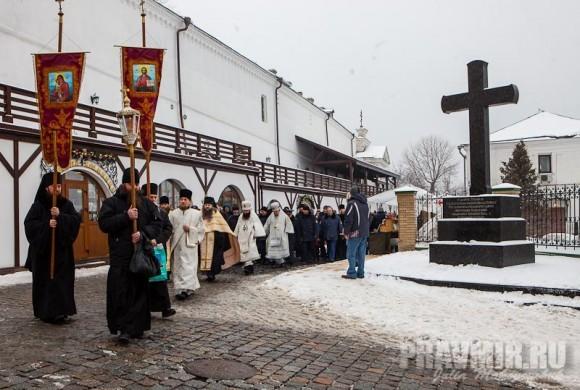 Поклонный крест в честь 2000-летия от Рождества Христова.