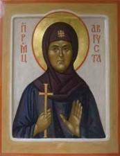 Икона преподобномученицы Августы (Защук)_fond.ru