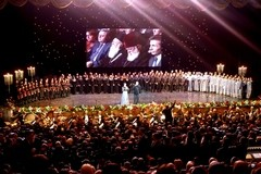 «Гмерти арис сикварули», или Праздник любви в Тбилиси (+ ФОТО, ВИДЕО)