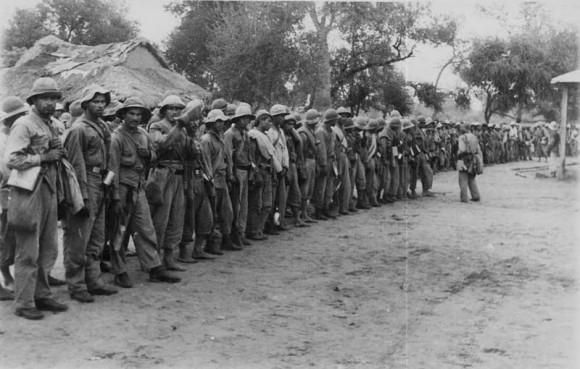 Парагвайские войска на марше