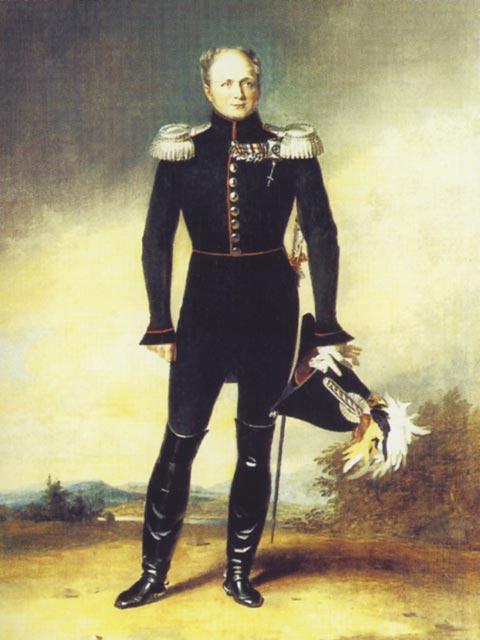 Портрет императора Александра I