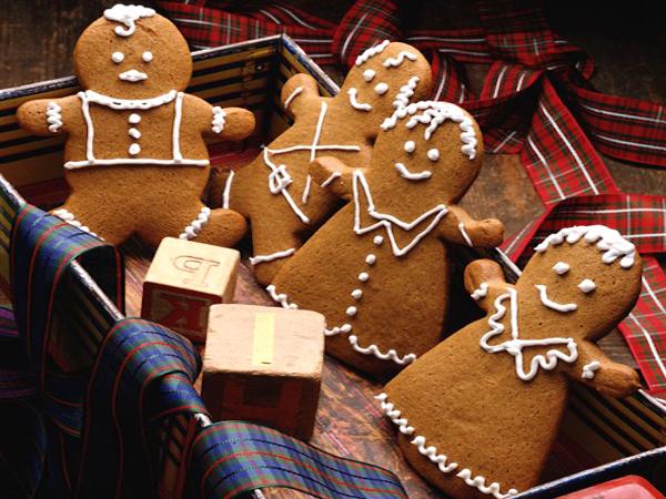 рождественское печенье рецепт с фото