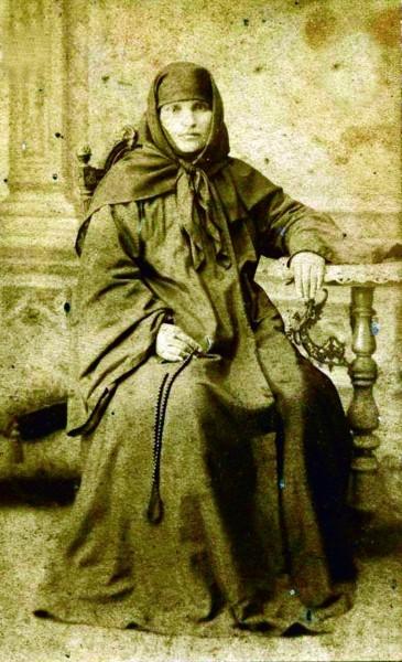 Игумения Теклатского монастыря Афанасия (Салакая), духовное чадо прп. Алексия