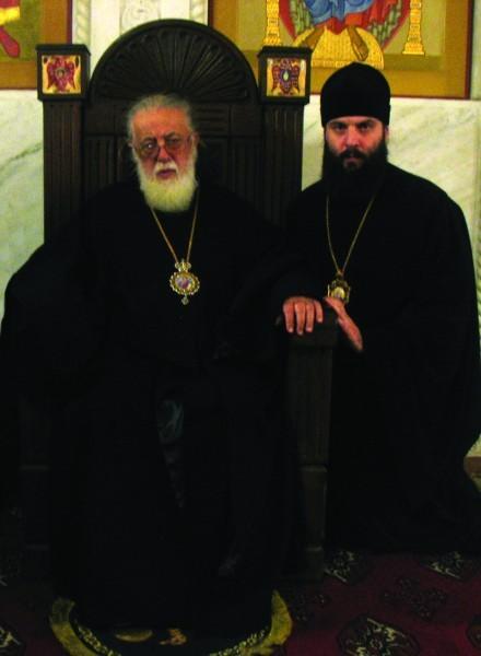 Святейший и Блаженнейший Католикос-Патриарх всея Грузии Илия II и митрополит Сенакский и Чхороцкусский Шио (Муджири)