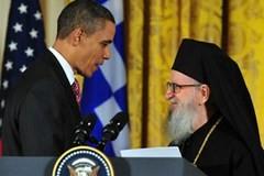 Обама и архиепископ