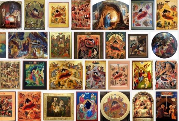 9 икон Рождества