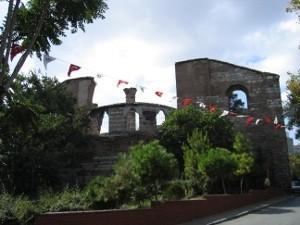 Руины Студийского монастыря. Стамбул