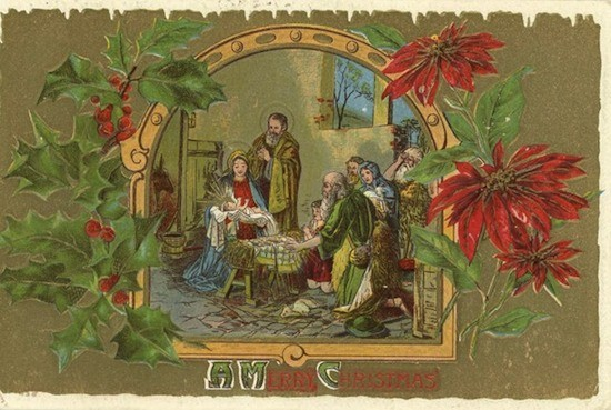 Рождественская открытка (9)
