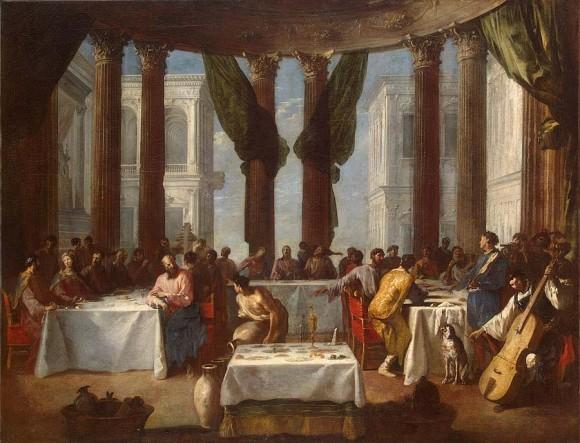 Шенфельд Иоганн Генрих. Брак в Кане Галилейской