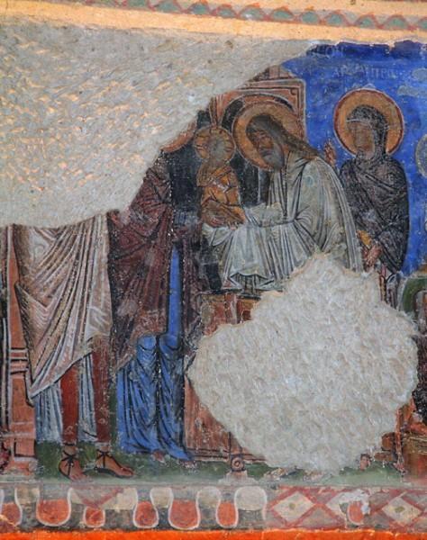 Фреска церкви Токали Килисе в Гёреме. X — XI в. Каппадокия, Турция