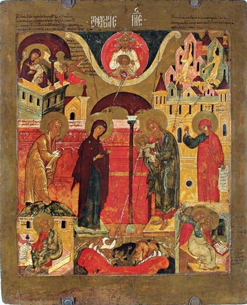 Ярославская икона. 1-ая половина XVII в. Ярославский художественный музей