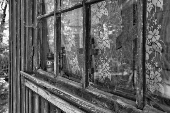 Старый дом. (Пантелеймоновский мужской монастырь. Закарпатье)