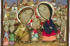 Евангельские миниатюры Давида Попиашвили (+ фото)