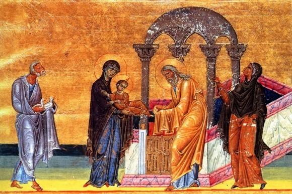 Миниатюра Менология Василия II. Около 986г. Ватиканская библиотека