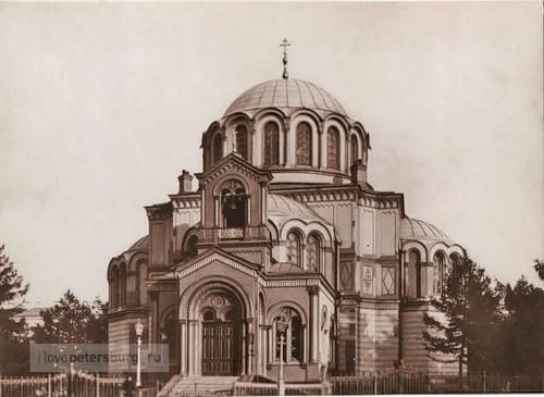 Таким был храм в честь вмч. Димитрия Солунского в Санкт-Петербурге