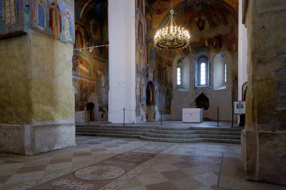Спасо-Преображенский собор. Внутренние интерьеры