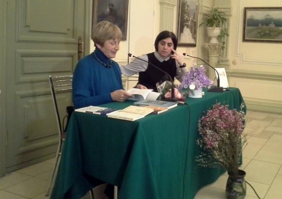 Ольга Седакова и Ксения Голубович