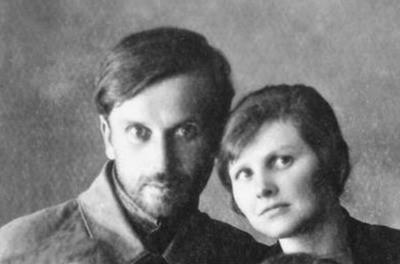 Валериан Новицкий с супругой, 1920-е годы (до рукоположения). pstbi.ru