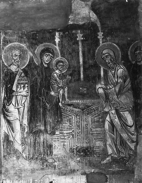Фреска новгородской церкви Спаса на Нередице. 1199 г. (не сохранилась)