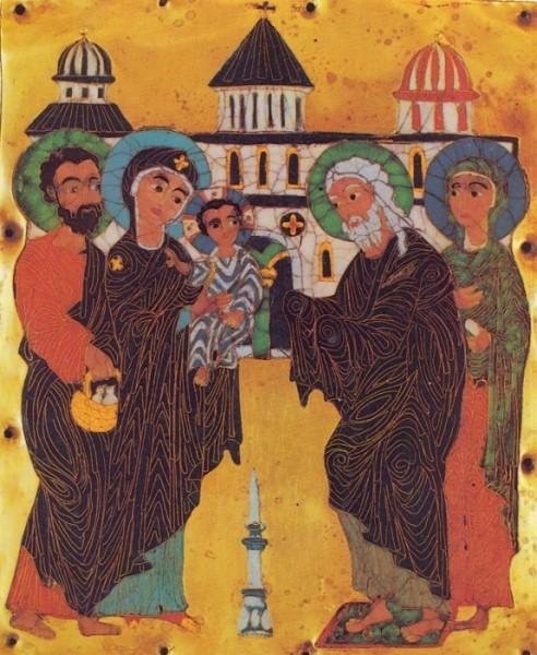 Эмаль. Конец XII -начало XIII в. Грузия. Государственный музей искусств Грузии, Тбилиси