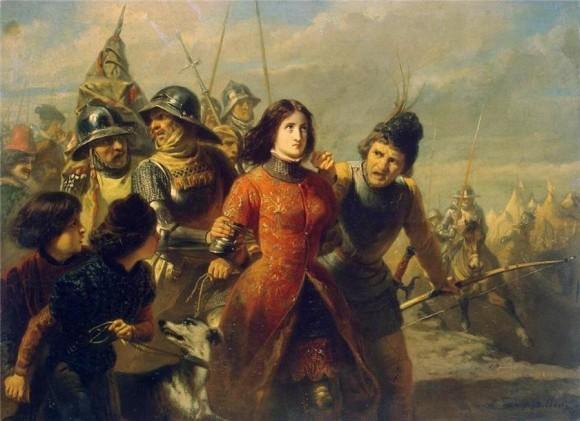 Дилленс Адольф Александр. Пленение Жанны д'Арк