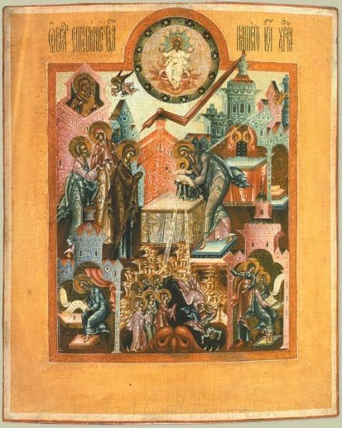Икона. 1-ая треть XIX века. Палех. Частное собрание