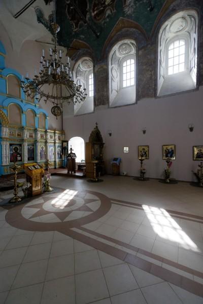 Смоленская церковь (1696—1706 гг.) Внутренние интерьеры