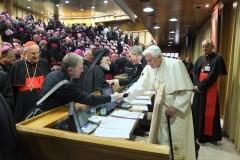 Встречи с Папой Римским Бенедиктом XVI