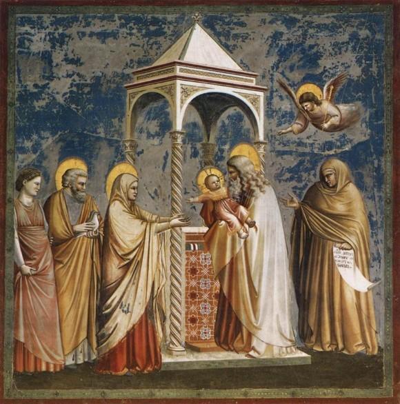 Джотто ди Бондоне. Фреска капеллы дель Арена. 1304—1306 гг. Падуя, Италия