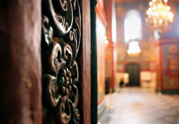 Открыто, входите! (Новодевичий монастырь. Москва)