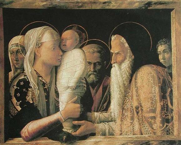 Андреа Мантенья. Около 1465—1466 гг. Государственные музеи, Берлин, Германия